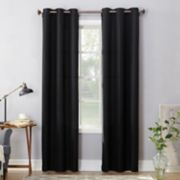 No 918 Montego Casual Textured Grommet Window Curtain