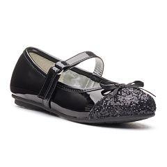Jumping Beans® Toddler Girls' Glitter Mary Jane Shoes