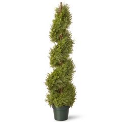 National Tree Company 48' Artificial Juniper Spiral Tree