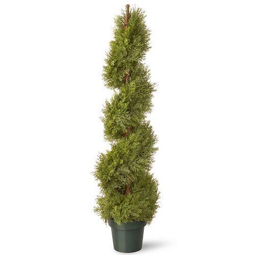 "National Tree Company 48"" Artificial Juniper Spiral Tree"
