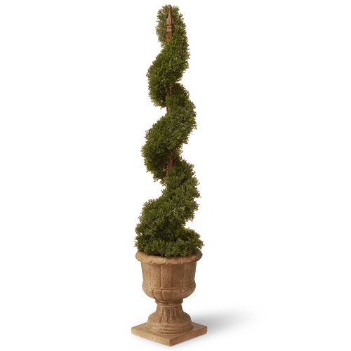 National Tree Company 48″ Artificial Elegant Juniper Spiral Tree