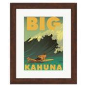 "Metaverse Art ""Big Kahuna"" Framed Wall Art"