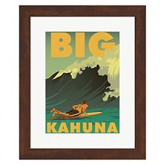Metaverse Art 'Big Kahuna' Framed Wall Art
