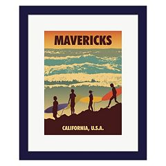 Metaverse Art 'Mavericks' Framed Wall Art