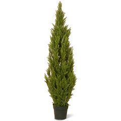 National Tree Company 60' Artificial Arborvitae Tree