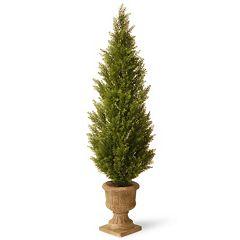 National Tree Company 60' Artificial Elegant Arborvitae Tree