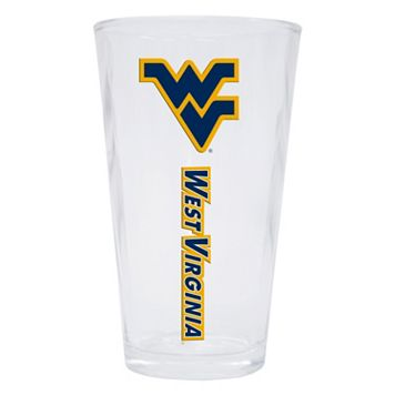 West Virginia Mountaineers 2-Pack Pint Glass Set
