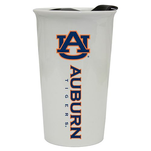 Auburn Tigers Double-Walled Ceramic Tumbler