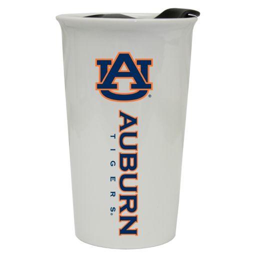 Auburn Tigers Double-Walled Ceramic Tumbler