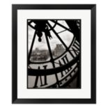 Metaverse Art Big Clock Framed Wall Art