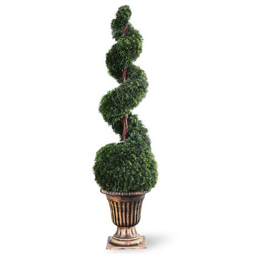 "National Tree Company 54"" Artificial Cedar Spiral Tree"