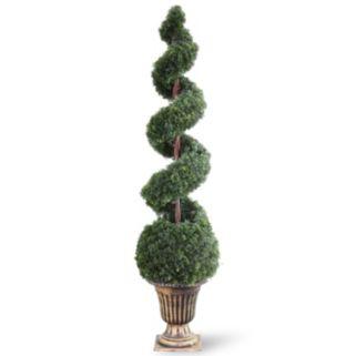 "National Tree Company 66"" Artificial Cedar Spiral Tree"