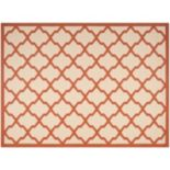 Safavieh Courtyard Moroccan Lattice Indoor Outdoor Rug