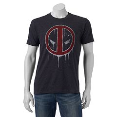 Men's Marvel Deadpool Drip Tee