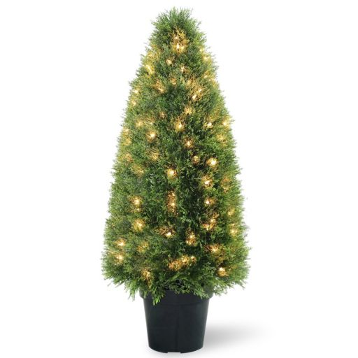 "National Tree Company Pre-Lit 36"" Artificial Upright Juniper Tree"