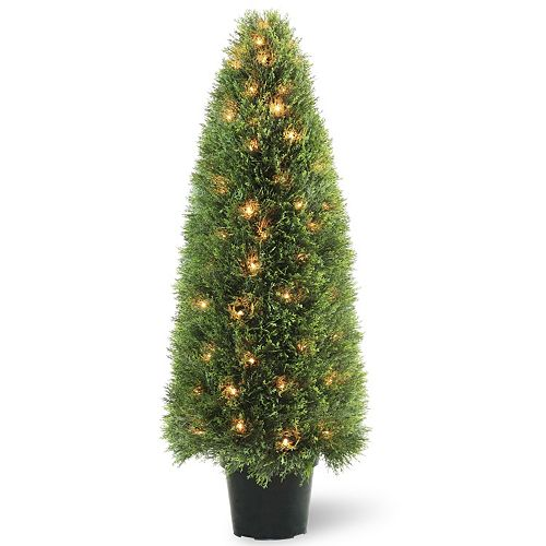 "National Tree Company Pre-Lit 48"" Artificial Upright Juniper Tree"