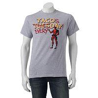 Men's Marvel Deadpool Taco Tee