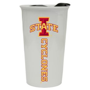 Iowa State Cyclones Double-Walled Ceramic Tumbler