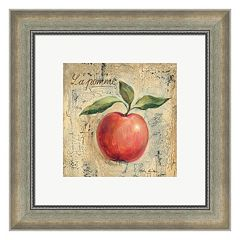 Metaverse Art La Pomme Framed Wall Art