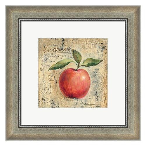 Metaverse Art La Pomme Framed Wall Art