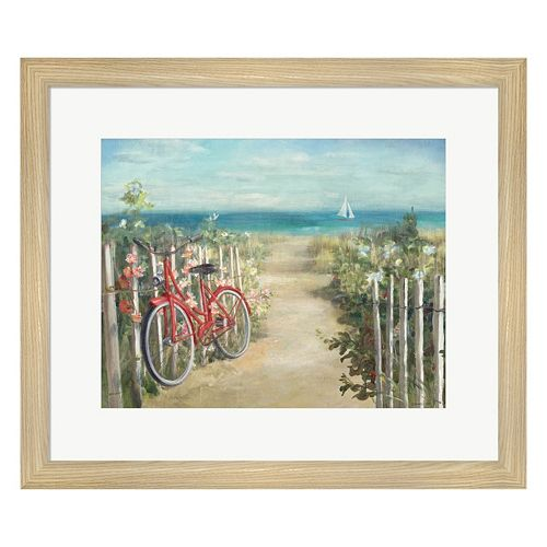 Metaverse Art Summer Ride Framed Wall Art