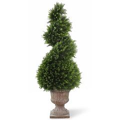 National Tree Company 48' Artificial Wide Juniper Spiral Tree