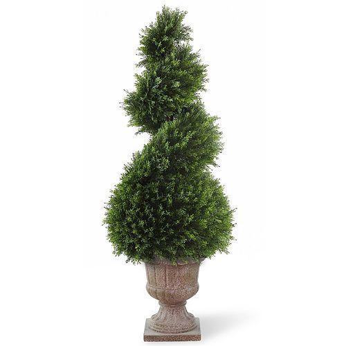 "National Tree Company 48"" Artificial Wide Juniper Spiral Tree"