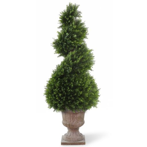 "National Tree Company 48"" Artificial Wide Juniper Spiral Tree"