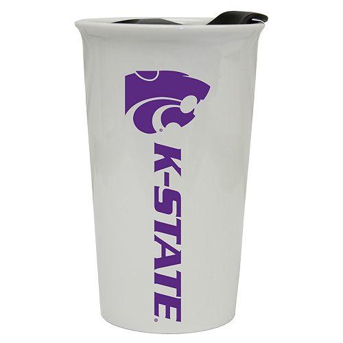 Kansas State Wildcats Double-Walled Ceramic Tumbler