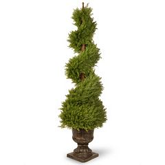 National Tree Company 60' Artificial Wide Juniper Spiral Tree