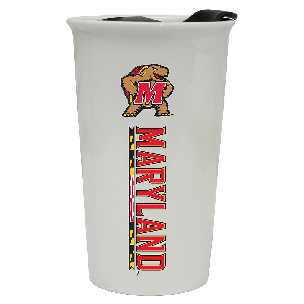 Maryland Terrapins Double-Walled Ceramic Tumbler