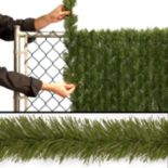 National Tree Company InstaBlock Artificial Hedge Fence Braid
