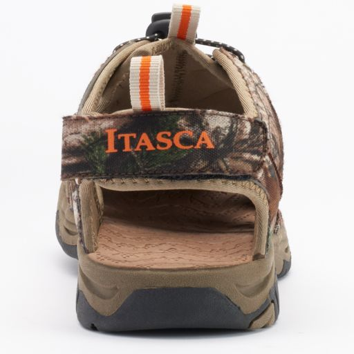 Itasca West Lake Men's Camouflage Sandals