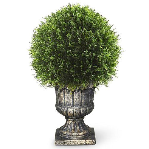 "National Tree Company 27"" Artificial Upright Juniper Ball Plant"