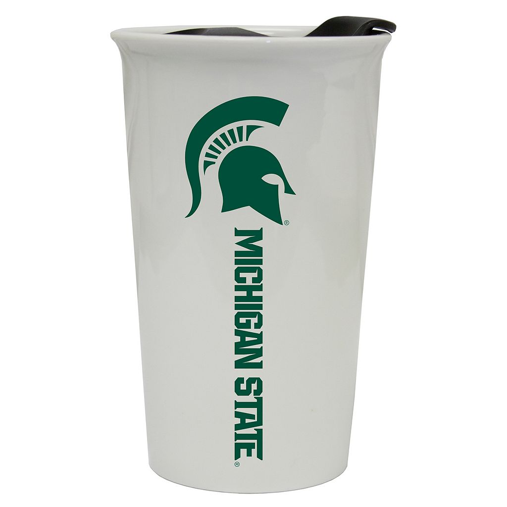 Michigan State Spartans Double-Walled Ceramic Tumbler
