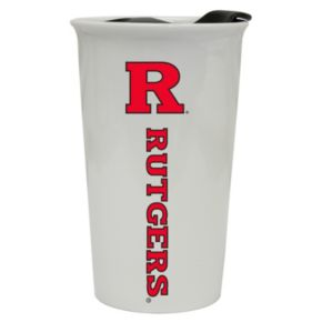 Rutgers Scarlet Knights Double-Walled Ceramic Tumbler