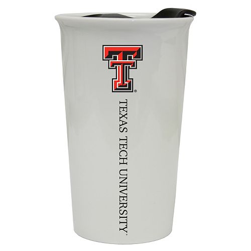 Texas Tech Red Raiders Double-Walled Ceramic Tumbler