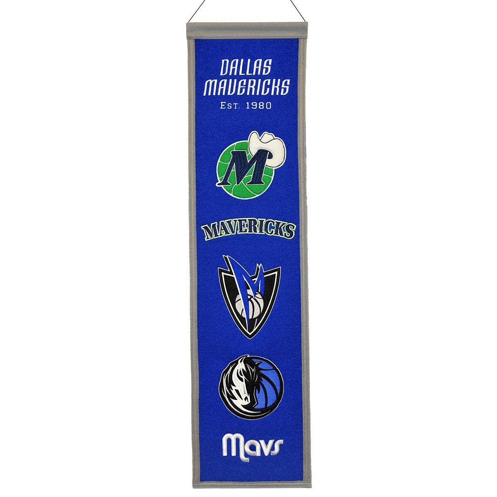 Dallas Mavericks Heritage Banner