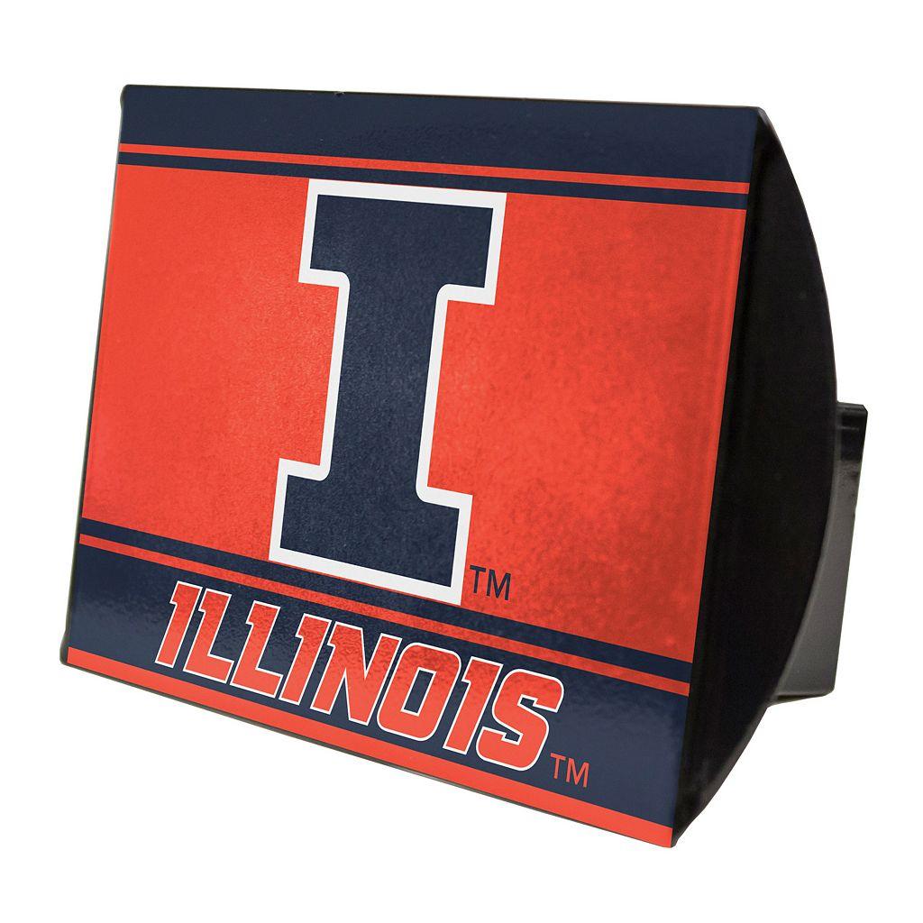 Illinois Fighting Illini Trailer Hitch Cover