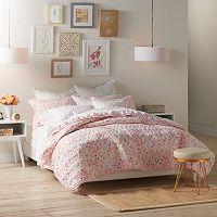 LC Lauren Conrad Sprig Leaf Quilt Set