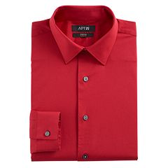 Men's Apt. 9® Slim-Fit Flex Collar Dress Shirt