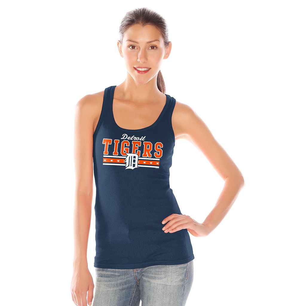 Women's Detroit Tigers Knit Tank Top