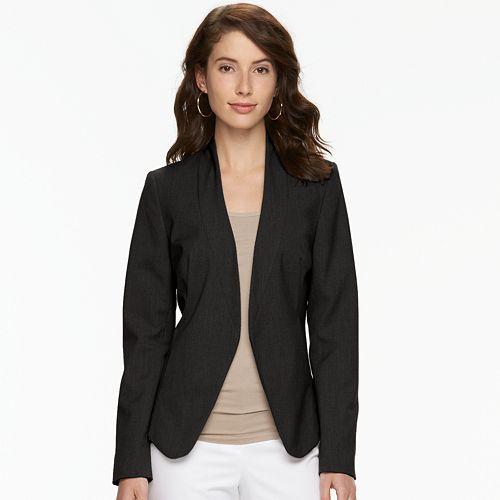 Women's Apt. 9® Open Front Blazer