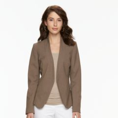 Womens Brown Blazers & Suit Jackets - Tops, Clothing | Kohl's