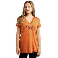 Women's Majestic Denver Broncos Bright Lights Tee