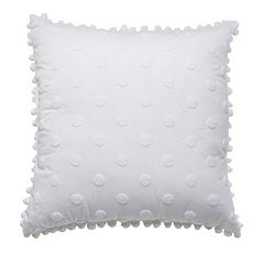 LC Lauren Conrad Polka Dot Throw Pillow