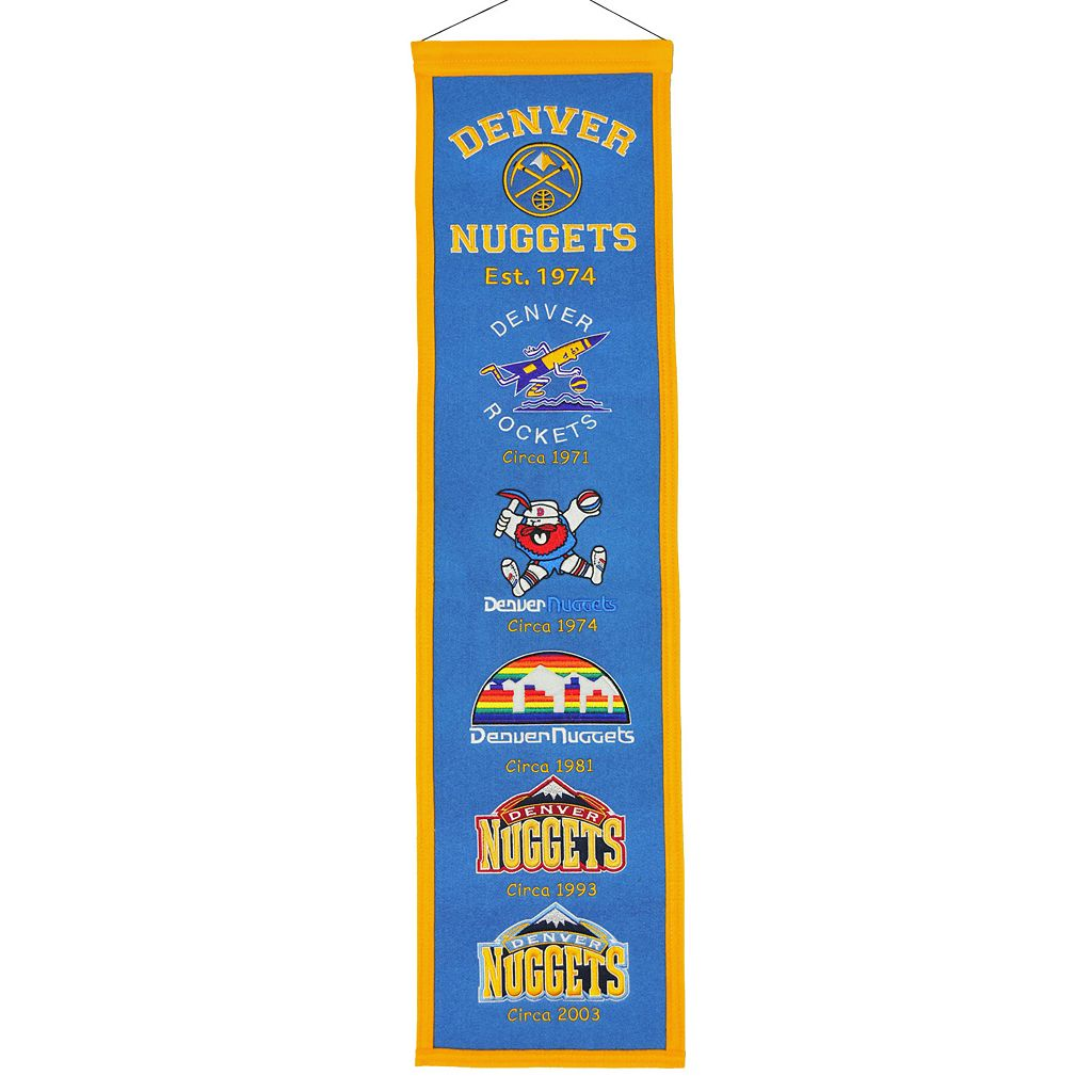 Denver Nuggets Heritage Banner