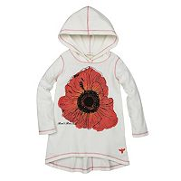 Toddler Girl Burt's Bees Baby Hooded Poppy Tunic