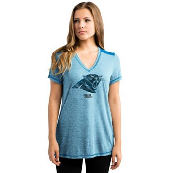 Women's Majestic Carolina Panthers Bright Lights Tee