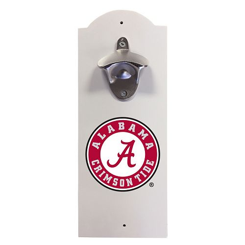 Alabama Crimson Tide Wall-Mounted Bottle Opener